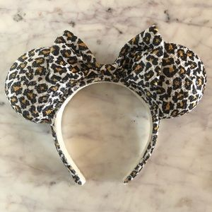 Disneyland Paris Cheetah Minnie Ears RETIRED
